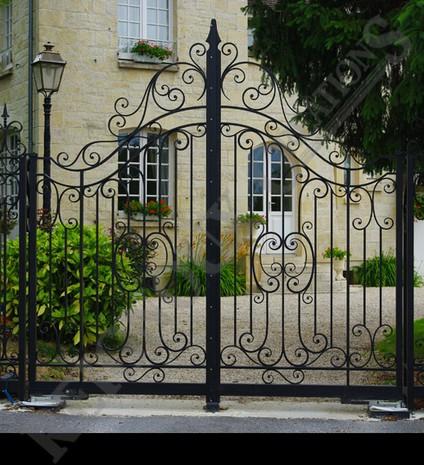 devis portail coulissant Dinard