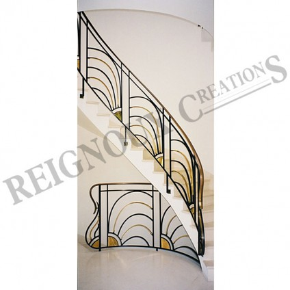 Rampes d\'escalier fer forgé - Ferronerie d\'art - Maison fondée en ...
