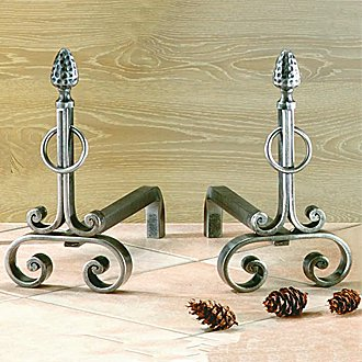 accessoire de chemin e chenets ch3106 reignoux cr ations. Black Bedroom Furniture Sets. Home Design Ideas